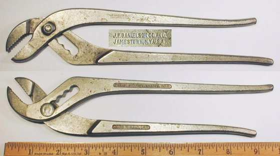 [J.P. Danielson 10 Inch Waterpump Pliers]