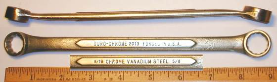 [Duro-Chrome 2013 9/16x5/8 Box-End Wrench]