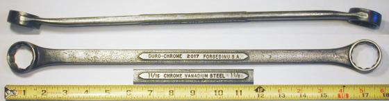 [Duro-Chrome 2017 1-1/16x1-1/8 Box-End Wrench]