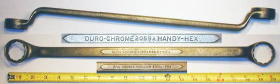 [Duro-Chrome Handy-Hex 2059A 1-5/16x1-3/8 Offset Box Wrench]