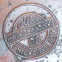 [Duro Metal Products Logo]