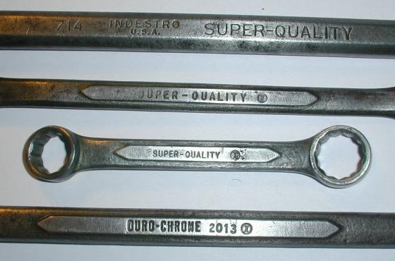 [Duro/Indestro Wrenches with Super-Quality and X-Circle Marks]