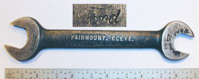 [Fairmount 25 Ford 1/2x19/32 Open-End Wrench]