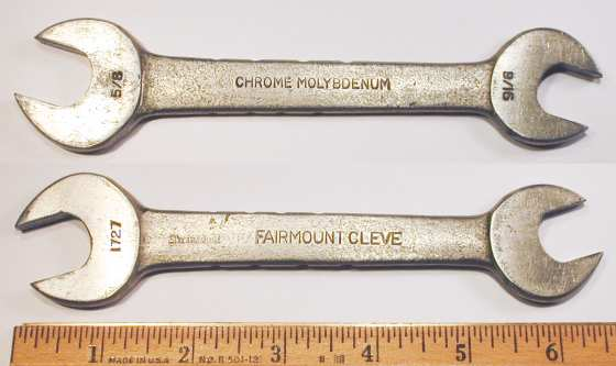[Fairmount 1727 9/16x5/8 Open-End Wrench]