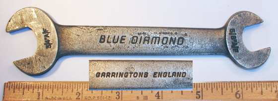 [Garrington Blue Diamond 5/8x3/4 Open-End Wrench]