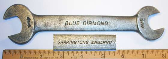 [Garrington Blue Diamond 3/4x7/8 Open-End Wrench]
