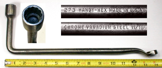 [Handy-Hex 273 11/16x11/16 Head and Manifold Wrench]