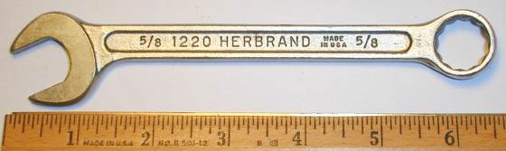 [Herbrand 1220 5/8 Multitype Combination Wrench]