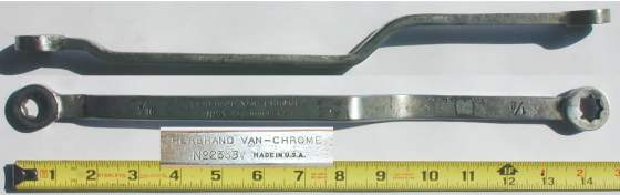 [Herbrand 2333V 7/16x1/2 Double-Square Box Wrench]