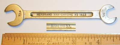[Herbrand 1423 3/8x7/16 Open-End Wrench]