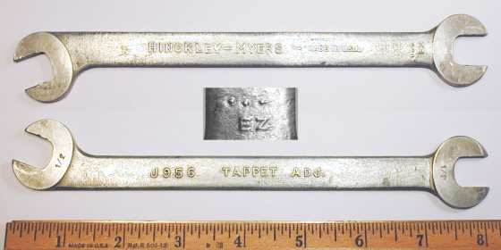 [Hinckley-Myers J956 1/2x1/2 Tappet Wrench]