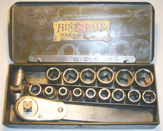 [Early Hinsdale 1/2-Drive Socket Set]