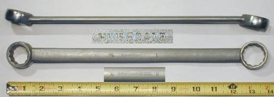 [Hinsdale X6 15/16x1 Angled Box-End Wrench]