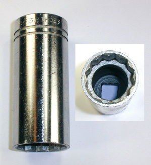 [Indestro Select 6632 1/2-Drive 1 Inch 12-Point Deep Socket]