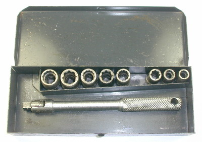 [1/4-Drive Socket Set from N696 Set]