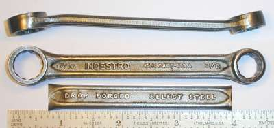 [Indestro Chicago 3/8x7/16 Box-End Wrench]
