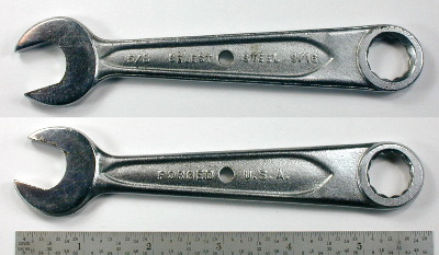 [Indestro Select Steel 9/16x5/8 Open+Box Wrench]