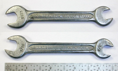 [Indestro Select Steel 0723 3/8x7/16 Open-End Wrench]