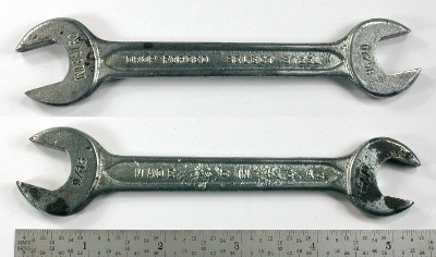 [Indestro Select Steel 0725B 1/2x9/16 Open-End Wrench]