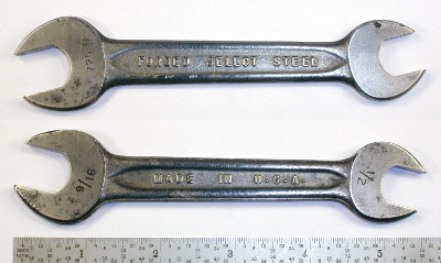 [Indestro Select Steel 725B 1/2x9/16 Open-End Wrench]