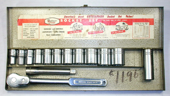[Indestro Select 85001 1/2-Drive 16-Piece Socket Set]
