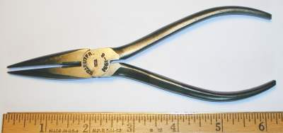 [Kraeuter 1661-6 6 Inch Short Needlenose Side-Cutting Pliers]