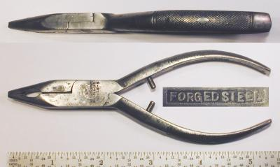 [Kraeuter 1711-5 5 Inch Long-Nose Side-Cutting Pliers]