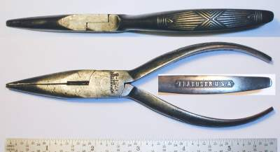 [Kraeuter 1721-6 6 Inch Long-Nose Side-Cutting Pliers]