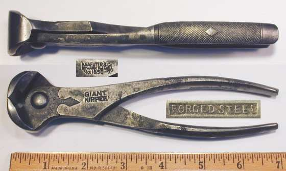 [Kraeuter 1850-7 Giant Nipper 7 Inch End Nippers]