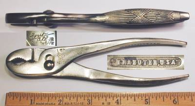 [Kraeuter 1863-6-1/2 6.5 Inch Slip-Joint Gas and Burner Pliers]