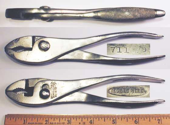 [Kraeuter 1873-7 7 Inch Combination Pliers with Side Cutters]