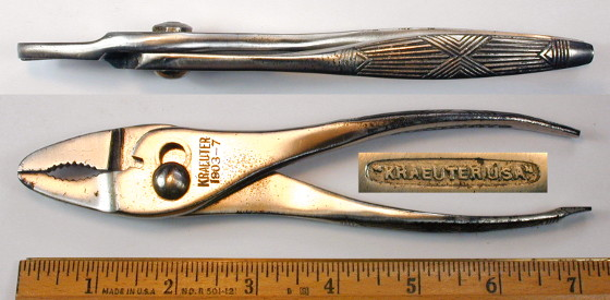 [Kraeuter 1903-7 7 Inch Thin-Nose Combination Pliers]