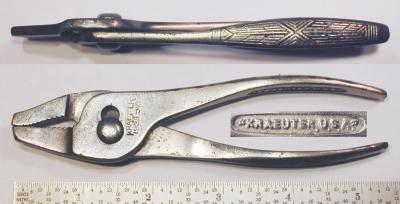 [Kraeuter 1933-5-1/2 5.5 Inch Thin Combination Pliers]