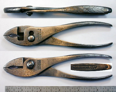 [Kraeuter 1973-5-1/2 5.5 Inch Slip-Joint Combination Pliers]