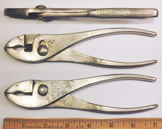 [Kraeuter 1973-7 7 Inch Slip-Joint Combination Pliers]