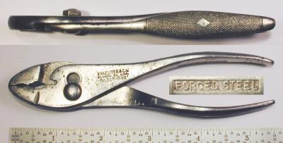 [Kraeuter 356-5-1/2 5.5 Inch Combination Pliers]