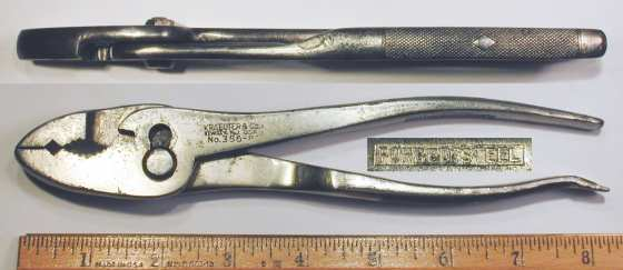 [Kraeuter 356-8 8 Inch Combination Pliers]