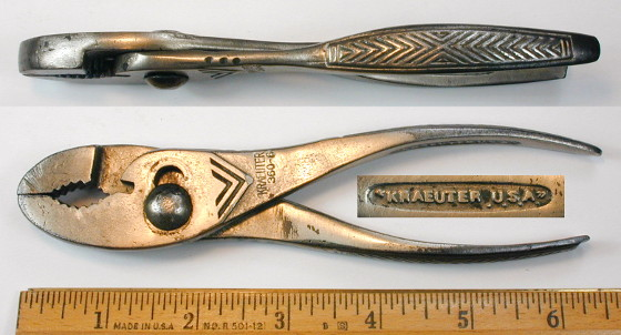 [Kraeuter 360-6 6 Inch Combination Pliers]