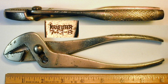 [Kraeuter 743-8 8 Inch Angle-Nose Pliers]