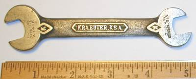 [Kraeuter A1416 7/16x1/2 Open-End Wrench]