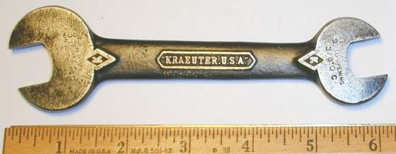 [Kraeuter A1820 9/16x5/8 Open-End Wrench]