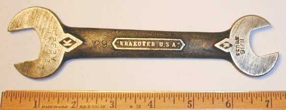 [Kraeuter A2225 11/16x25/32 Open-End Wrench]