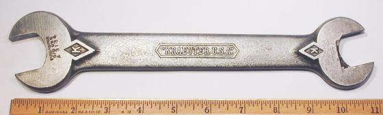[Kraeuter A3134 31/32x1-1/16 Open-End Wrench]