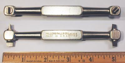 [Millers Falls No. 199 Four-Way Offset Screwdriver]
