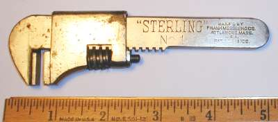 [Mossberg Sterling No. 1 5 Inch Bicycle Wrench]