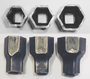 [Mossberg Pressed-Steel Hex Sockets from No. 6 Set]