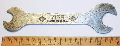 [Mossberg No. 715B 1/2x11/16 Open-End Wrench]