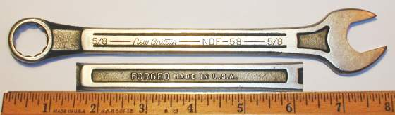 [New Britain NDF-58 5/8 Combination Wrench]