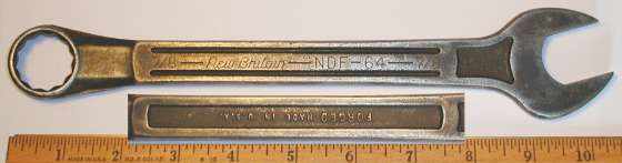 [New Britain NDF-64 7/8 Combination Wrench]