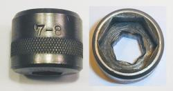[None Better 1/2-Hex Drive 7/8 Socket]